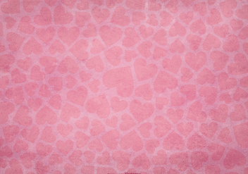 Textured Heart Background - vector gratuit #419429