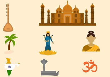 Free India Vector Collection - vector gratuit #419699