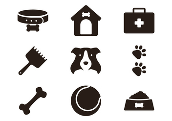 Border Collie Icon - vector #420259 gratis