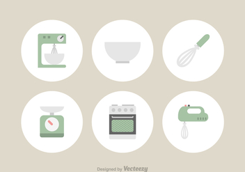 Free Kitchen Utensils Vector Icons - бесплатный vector #420389