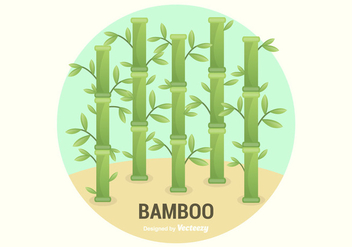 Free Bamboo Vector Illustration - vector gratuit #420399