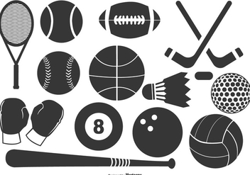 Sports Icon Collection - vector #420499 gratis