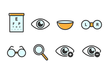 Free Eyes Vector Icons - бесплатный vector #420709