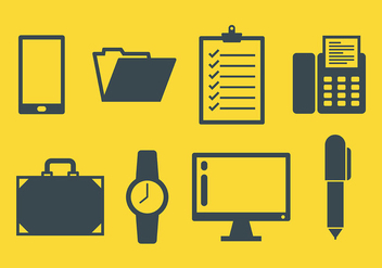 Free Business Icons Vector - vector gratuit #420799