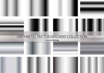 Grey Gradient Vector Collection - vector gratuit #421289