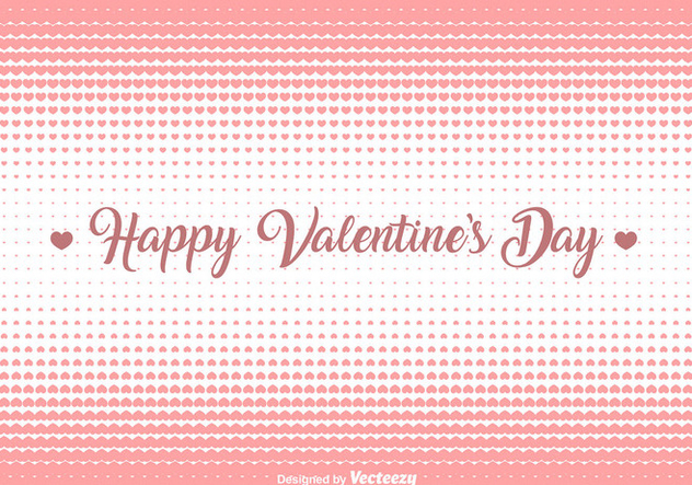 Vector Hearts Halftone Background - Kostenloses vector #421429