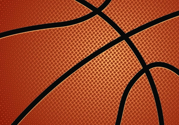 Vector Of Basketball Texture - vector gratuit #421589