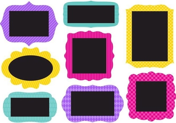 Free Collection of Funky Frames Vector - Kostenloses vector #421729