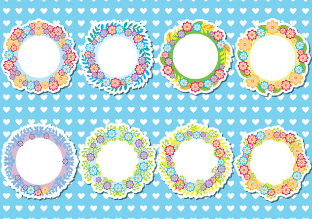 Funky Fun Frame Collection Free Vector Download 422487 Cannypic