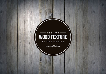 Dark Grey Wood Texture Background - Free vector #421969