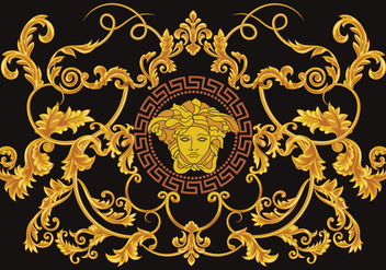 Greek Versace Vector - vector gratuit #422059