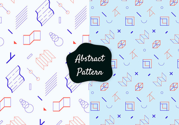 Abstract Decorative Pattern - vector gratuit #422069