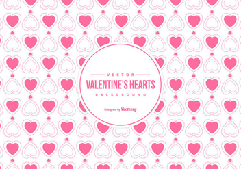 Cute Valentine's Day Background - Free vector #422199