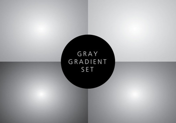 Gradient Background Four Pack - vector gratuit #422419