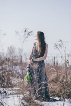 Boho winter shoot - image #422469 gratis