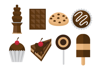 Free Chocolate Icons - vector #422729 gratis