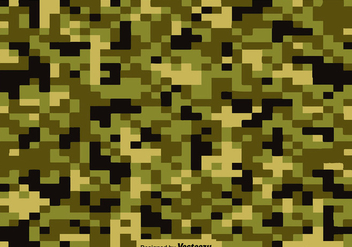 Vector Pixelated Multicam - бесплатный vector #422739