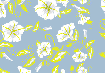 Floral Decorative Background Flowers Pastel Seamless Pattern - vector gratuit #422909