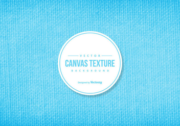 Blue Canvas Texture Background - vector gratuit #422949