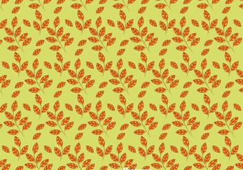 Autumn Leaves Seamless Pattern Background - Kostenloses vector #423389