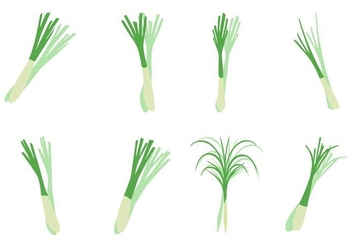 Free Lemongrass Icons Vector - бесплатный vector #423879