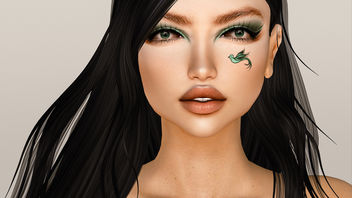 Makeup : Seraf Eyeshadow & Bird Tattoo by Arte @ Totally Top Shelf - image #424489 gratis