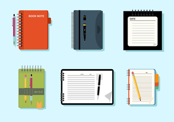 Notebooks Free Vector - vector #424599 gratis