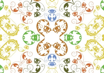 Abstract Repeat Pattern Background - vector #424839 gratis