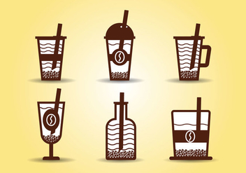 Bubble Tea Vector - vector gratuit #424919