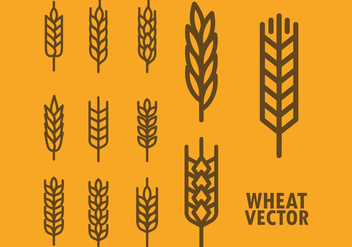 Free Wheat Vector Icons - бесплатный vector #424999