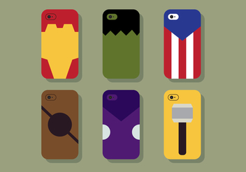 Fun Vector Phone Case - vector gratuit #425039