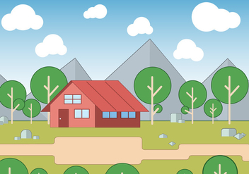 Free Landscape Vector Illustration - vector #425099 gratis