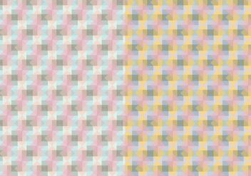 Square Pastel Pattern - Free vector #425119