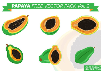 Papaya Free Vector Pack Vol. 2 - vector #425429 gratis