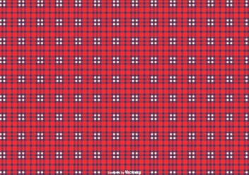 Blue/Red Flannel Pattern Background - vector gratuit #425439