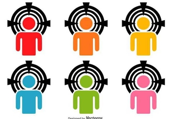 Headshots Vector Icons - бесплатный vector #425959