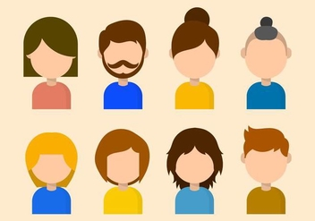 Free Personas Vector Collection - Kostenloses vector #426169