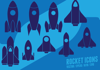 Rocket Set - vector #426209 gratis