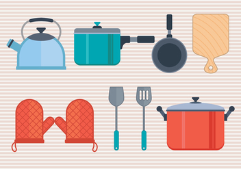 Cocina Vector Icons Set - vector gratuit #426319