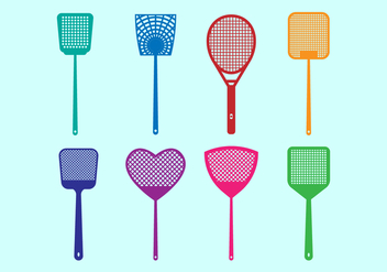 Free Fly Swatter Vector Icons - Kostenloses vector #426439