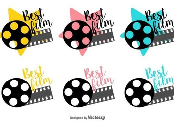 Best Film Canister Vector Labels - бесплатный vector #426509