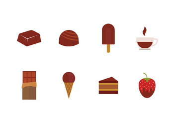 Free Chocolate Icons - vector #426819 gratis