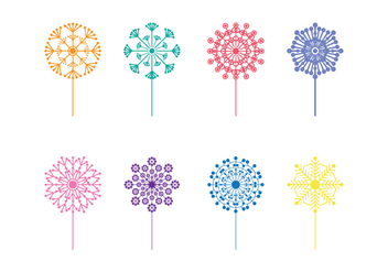 Free Blowball Vector Pack - бесплатный vector #426869