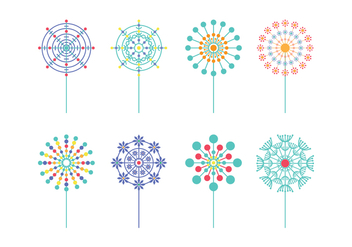 Free Blowball Vector Pack - бесплатный vector #426939