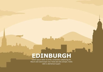 Edinburgh Background - бесплатный vector #427609