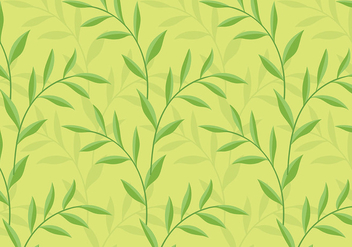 Leafy Background Daun Vector - бесплатный vector #427669