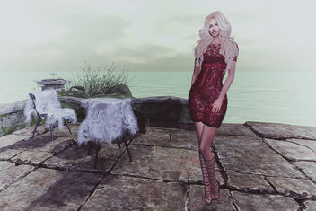 Dress Aida by Lybra @ Shiny Shabby - image gratuit #427919