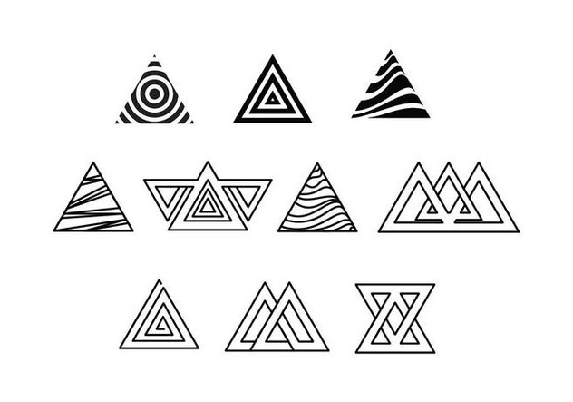 Free Prisma Triangle Vectors - бесплатный vector #428089