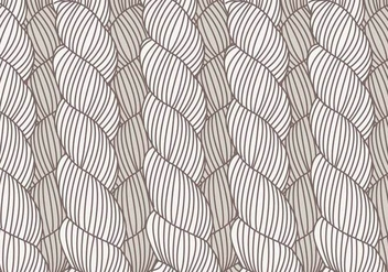 Hand Drawn Plait Pattern Vector - Free vector #428119