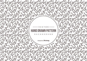 Cute Hand Drawn Background Pattern - Free vector #428149